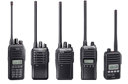 icom analogue radios
