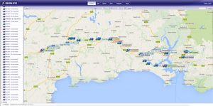 vehicle tracking with events