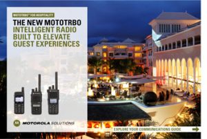 mototrbo intelligent radio built_to elevate guest experiences